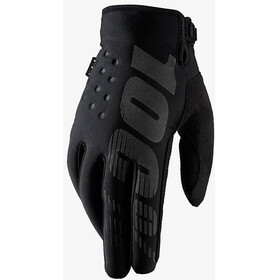 100% Brisker Gloves black